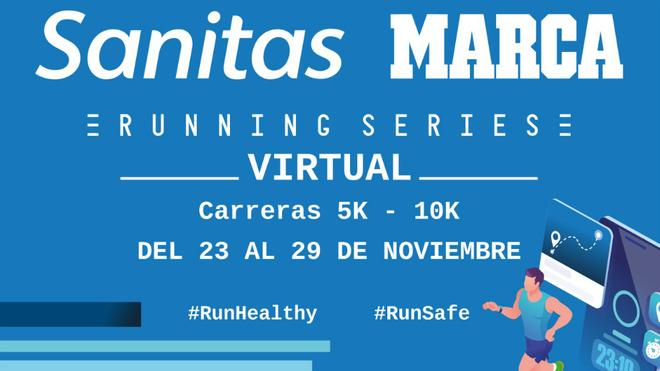 Más de 2.000 inscritos ya para la Sanitas Marca Running Series Virtual