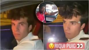 """A Riqui Puig le pasa lo que a Dembélé: """"Desde que estás en el primer equipo eres más chulo"""""""