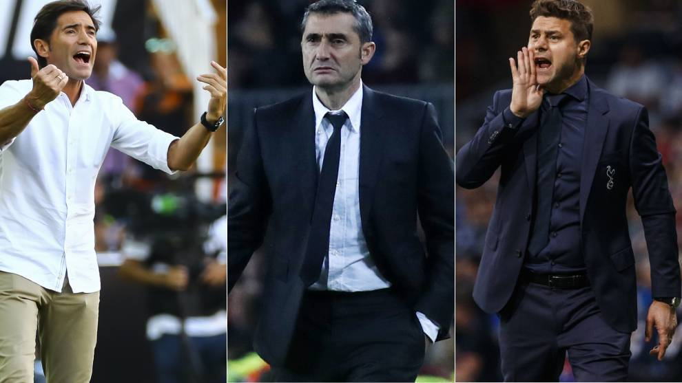 Athletic Club's shortlist: Pochettino the dream, Valverde the familiar and Marcelino on form