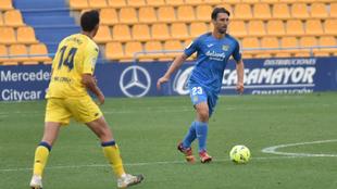 El futbolista debutó el pasado fin de semana contra el Alcorcón.
