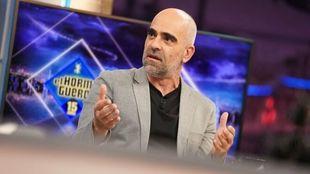 Luis Tosar en El Hormiguero con Pablo Motos defendiendo a Sara Salamo