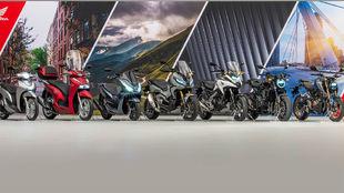 Al programa de renovación de las CRF 450R, 450 RX; CB 500F y 500XM;...