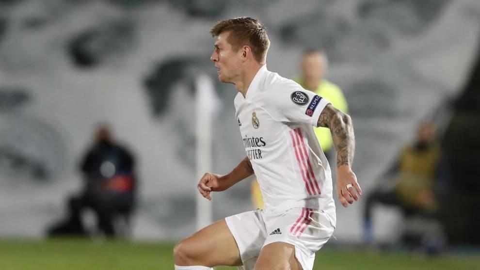 Kroos, en el partido ante el Inter.