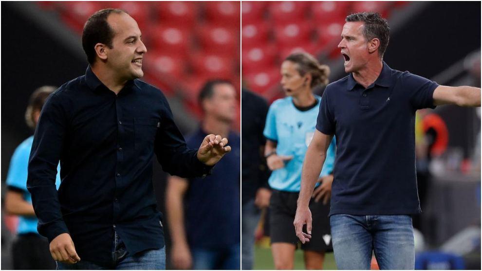 Lluís Cortés y Dani González, entrenadores de Barcelona y Atlético...