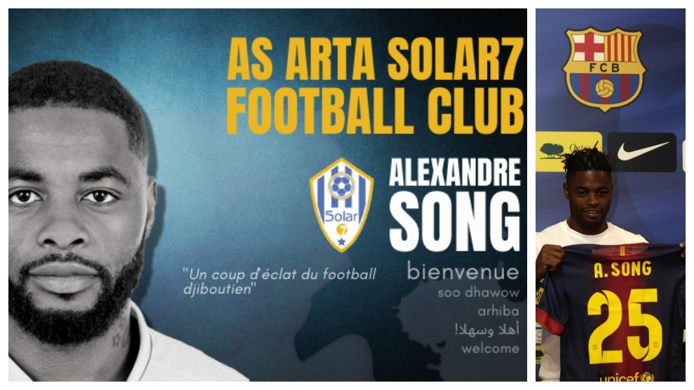 Alex Song: From being Barcelona's 'star' signing to joining a team in Djibouti