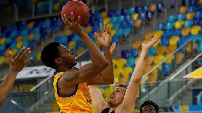 Okoye, en una imagen de archivo, fue el mejor del Gran Canaria (24+6).