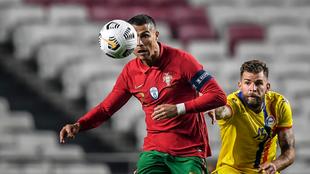 Cristiano Ronaldo, durante el partido contra Andorra