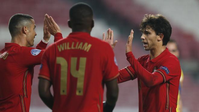 Portugal destroza a Andorra con Cristiano Ronaldo y Joao Félix como protagonistas   MARCA Claro México