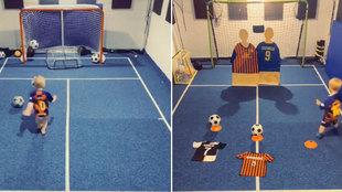 El niño del millón de seguidores en TikTok por hacer cosas como esta: ¿va para estrella del fútbol?
