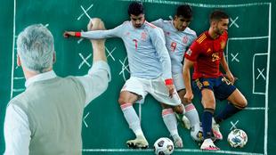 Morata, Gerard Moreno y Ferran Torres: ¿a quién debe elegir Luis Enrique como su 9?