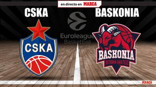 CSKA Moscú - Baskonia: horario y donde ver por TV hoy el partido de...