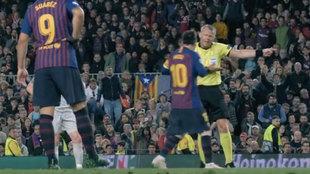 """El rapapolvo de Kuipers a Messi que la UEFA saca ahora a la luz: """"¡Siempre haces lo mismo!"""""""
