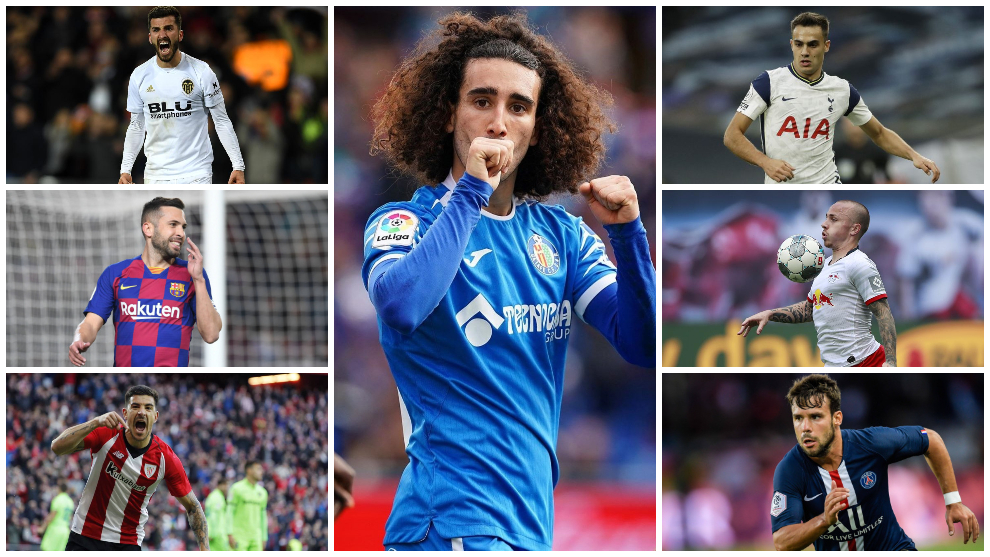De la España de los centrocampistas... ¿a la de los laterales izquierdos? Gayá, Reguilón, Cucurella, Alba, Angeliño...