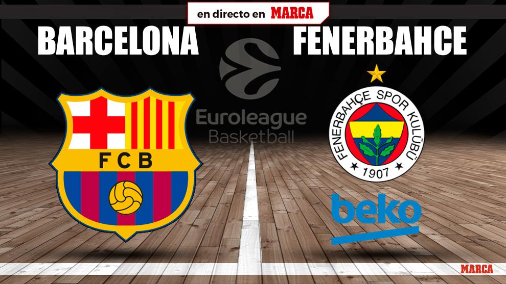 Barcelona - Fenerbache: horario y dónde ver en televisión hoy el...