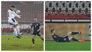 El gol de Jovic no le vale a Serbia: Escocia se mete tras una tanda de penaltis con polémica