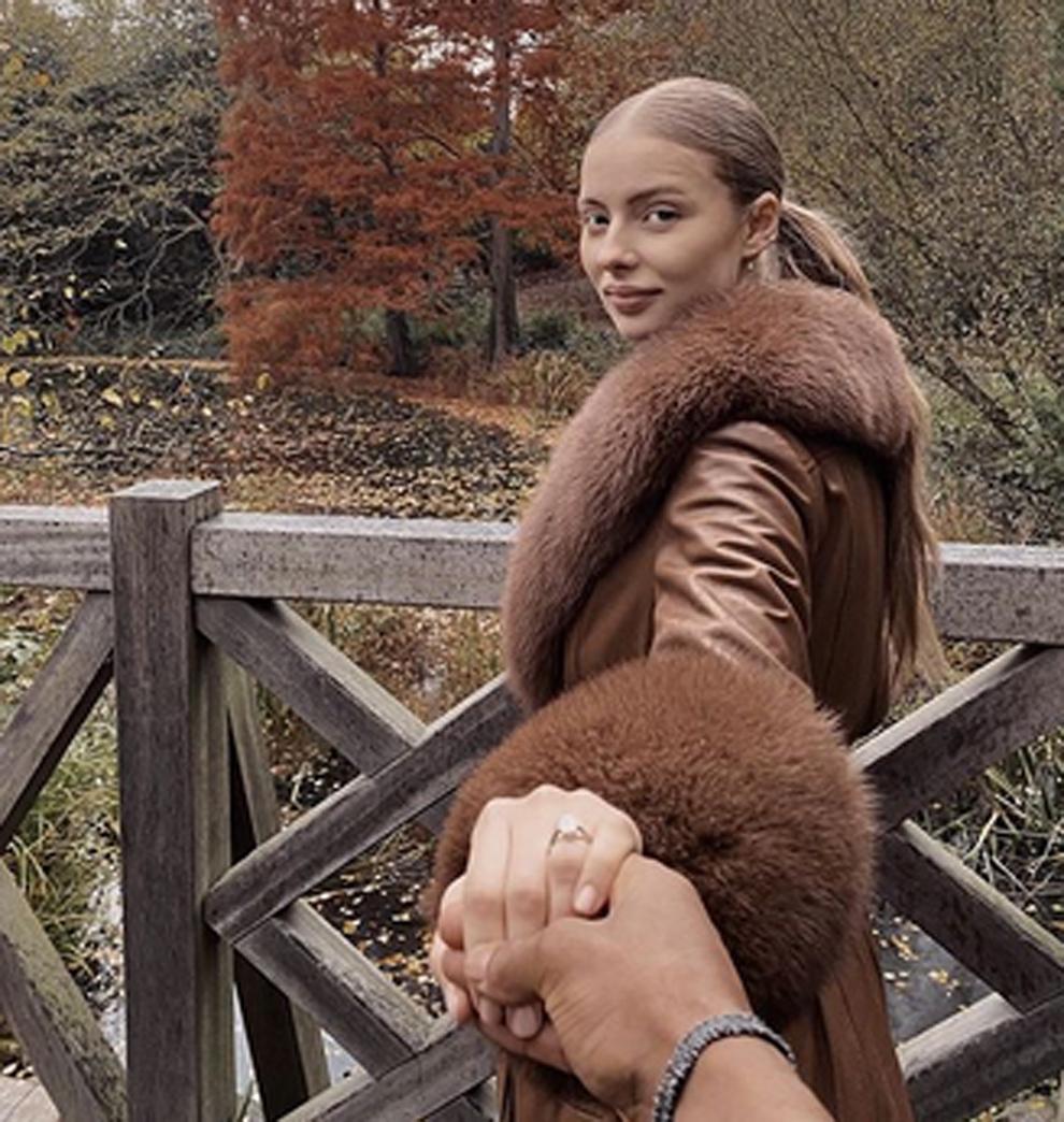 Patrice Evra (39 años) se ha comprometido con la modelo Margaux...
