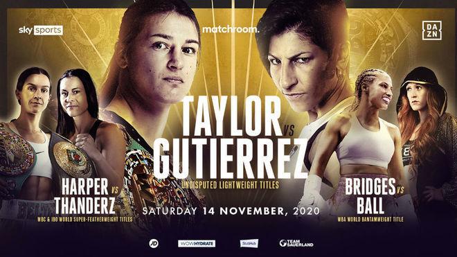 Katie Taylor vs. Miriam Gutiérrez: horario y dónde ver en TV el combate por los títulos del CMB, AMB, OMB y FIB