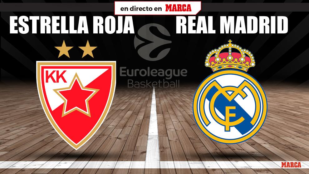 Estrella Roja - Real Madrid en directo