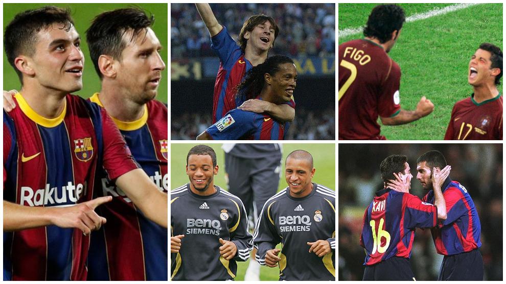 Pedri, Messi y los 'maestros' de los cracks del fútbol