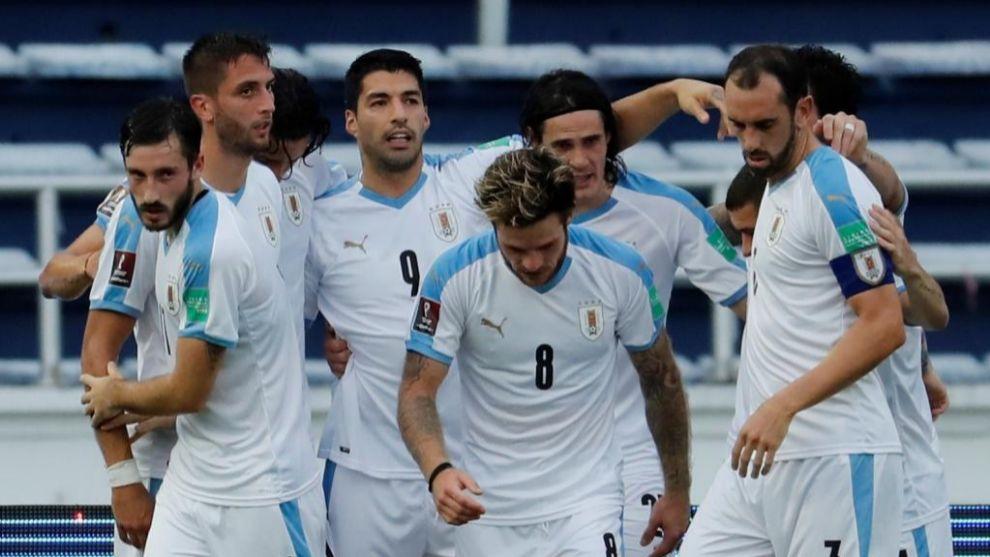 Goleada histórica de Uruguay en Colombia
