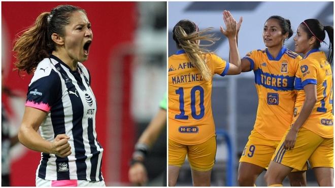 Futbol Femenil Rayadas Vs Tigres El Nuevo Clasico Nacional De La Liga Mx Femenil Marca Claro Mexico