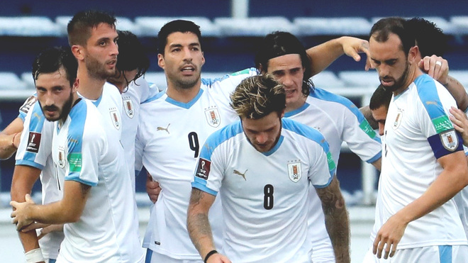 Colombia vs Uruguay.
