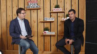 """Figo: """"¿Messi y el Barça? Si no quieres estar en un sitio..."""""""