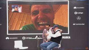 Joaquín y el chiste de la barbacoa: Labi Champion no puede parar de reír