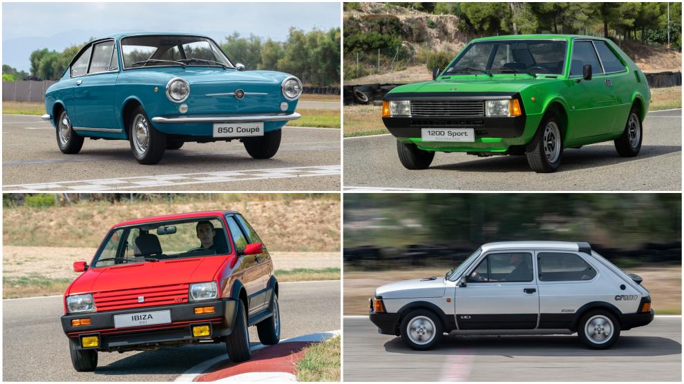 Del 850 Coupé al Ibiza FR: 70 años de pequeños deportivos en Seat