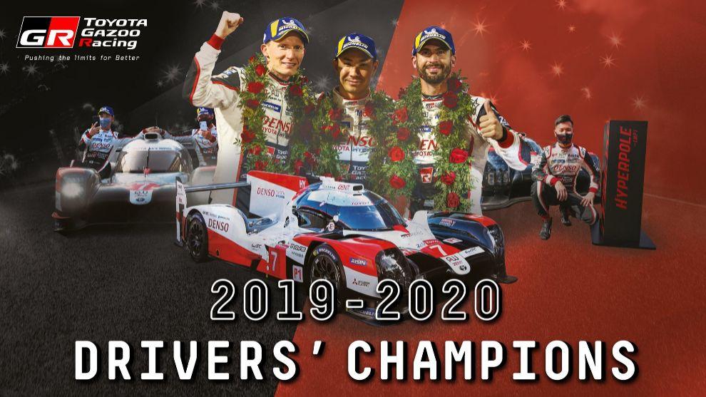 Pechito López, Kobayashi y Conway logran al fin el campeonato del mundo de resistencia