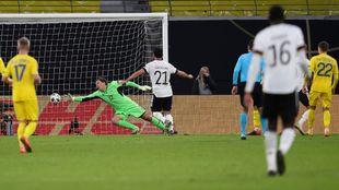 Werner anota el 3-1 para Alemania