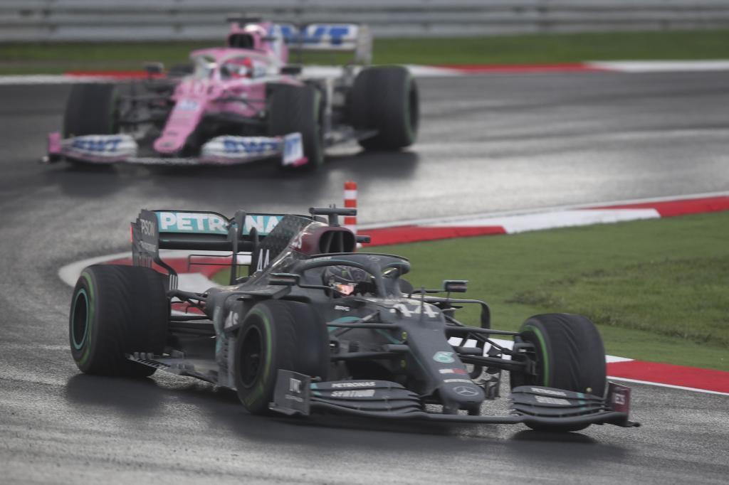 Lewis Hamilton campéon del mundo de F1 2020 en el GP Turquía