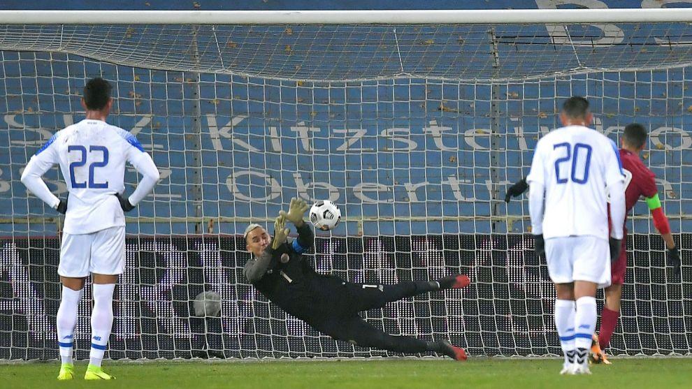 Keylor Navas volvió a jugar para Costa Rica el pasado viernes contra...