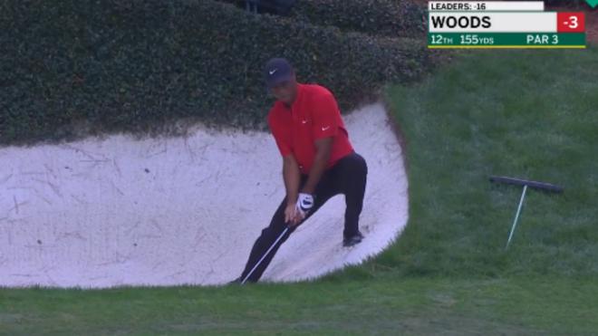 Tiger Woods firma el peor hoyo de su vida: ¡10 golpes en un par 3!