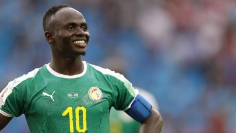 Sadio Mané, durante la última Copa África