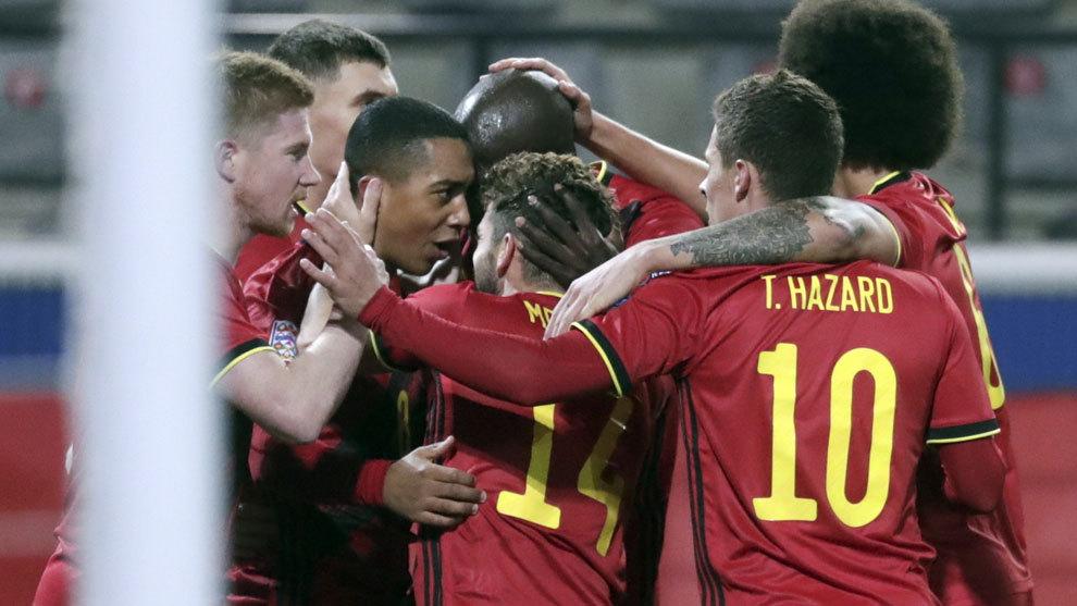 Bélgica elimina a Inglaterra y roza la 'final four'