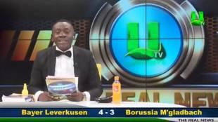El 'informativo' de un cómico ghanés que arrasa en la red: así da los resultados de Premier y Bundesliga