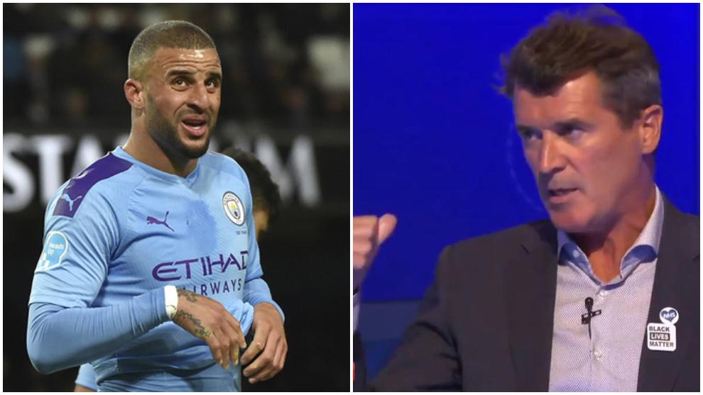 """El Manchester City se queja de las palabras de Roy Keane: """"Kyle Walker es un idiota"""""""