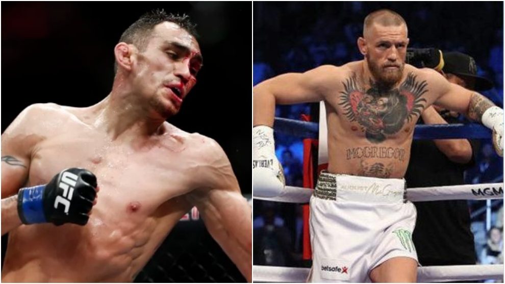Tony Ferguson y Conor McGregor.