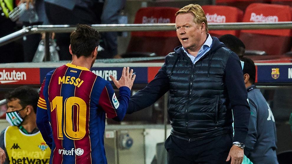 Koeman and Messi,