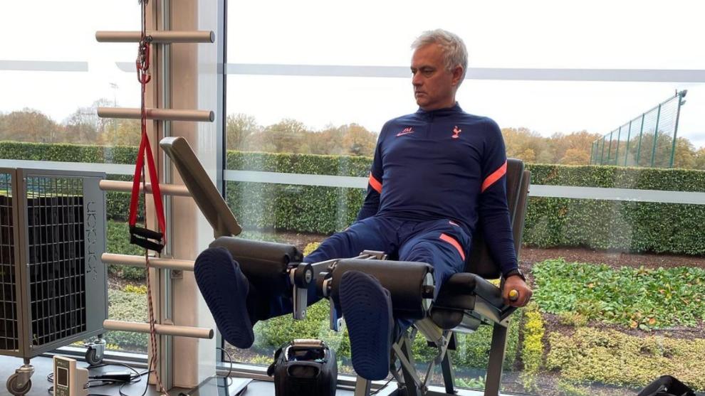 José Mourinho volvió a dejar un 'palito' en su Instagram