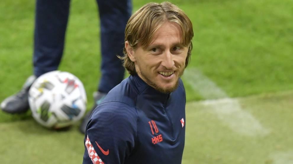"""Modric: """"Estoy mejor cuando juego varios partidos seguidos que cuando me dosifican"""""""