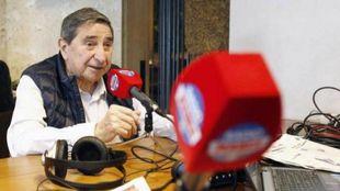 Lendorio, durante una entrevista con Radio MARCA