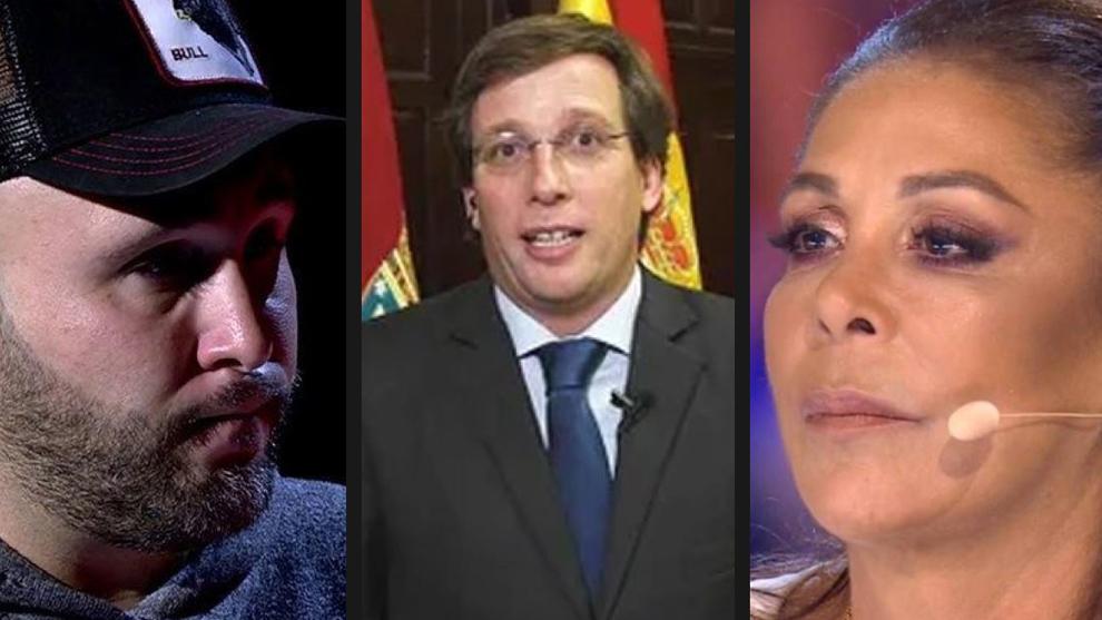 Jose Luis Martinez Almeida se decanta por Isabel Pantoja frente a su...