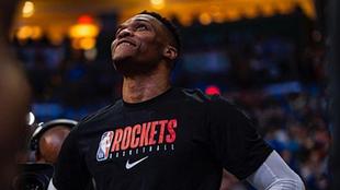 Russell Westbrook con los Rockets