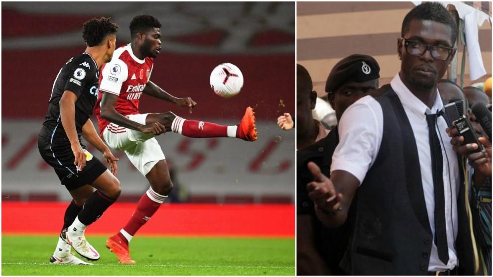 Adebayor y el consejo por el que Thomas se decidió a fichar por el Arsenal