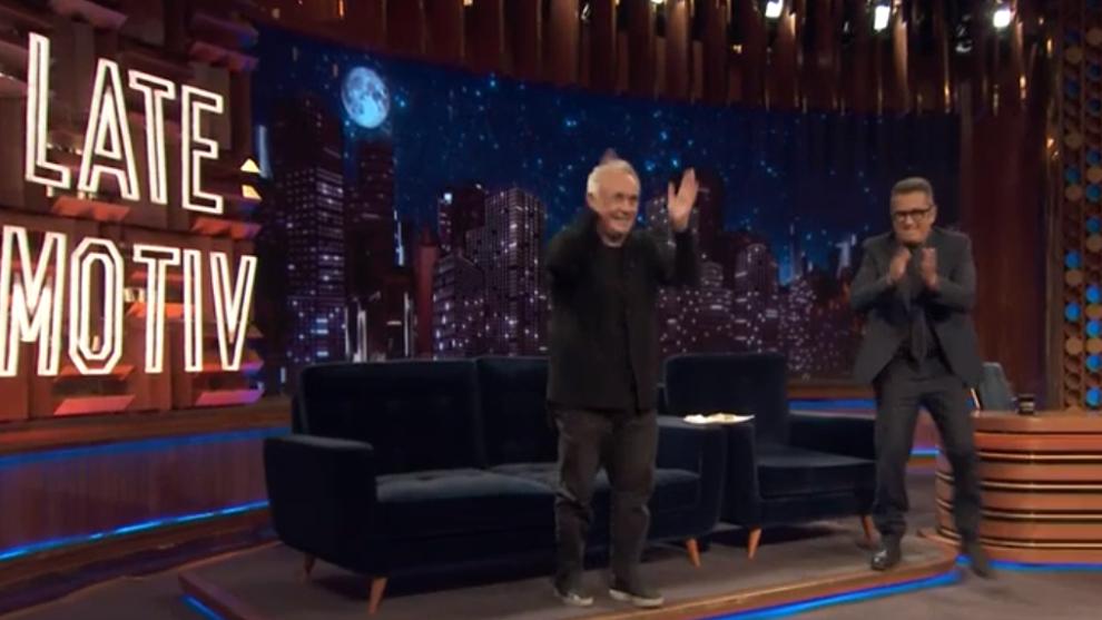 Andreu Buenafuente y Ferran Adrià en Late Motiv
