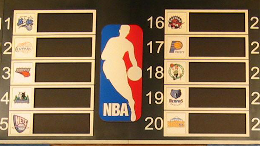 Orden de seleccion de las franquicias en el Draft de la NBA 2020