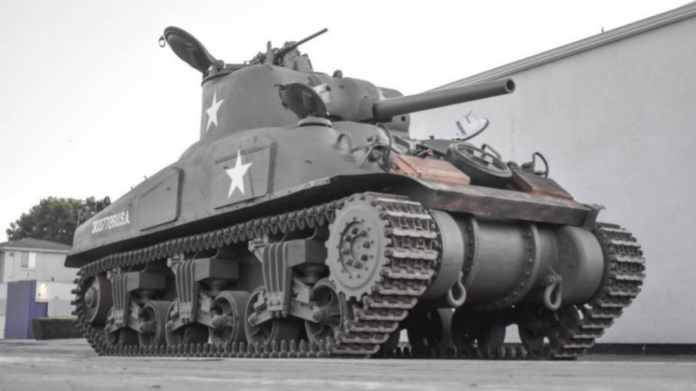 El Sherman M4A1 Grizzly de 1943.
