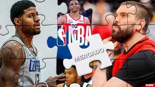"""El mercado de la NBA: """"traición"""" en los Celtics y Doncic busca otro jugón"""